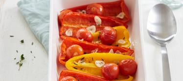 Geroosterde Dulce Vita met knoflook en tomaat
